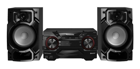 Mini System Panasonic 450w Rádio - Scakx220lbk - Bivolt
