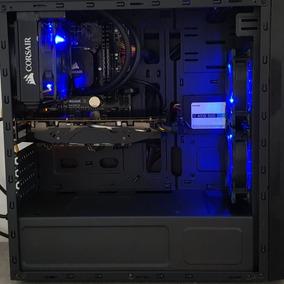 Pc Gamer I7 7700 Wc 16 Gb Ssd Hd 1tb Rx480 8gb - Garantia