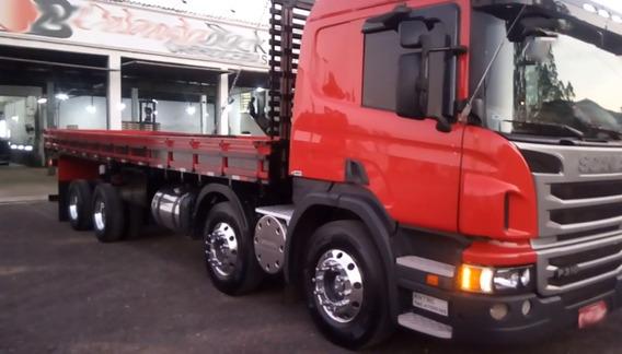 Scania P310 Bitruck 8x2 Carroceria De Madeira 9m