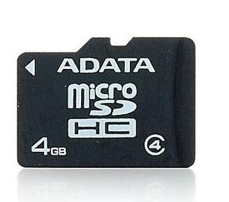 Memoria Micro Sd 4gb Adata Original 4 Gb Individuales Xtc
