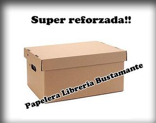 Cajas De Archivo Americana Super Reforzada 41 X 32 X 25
