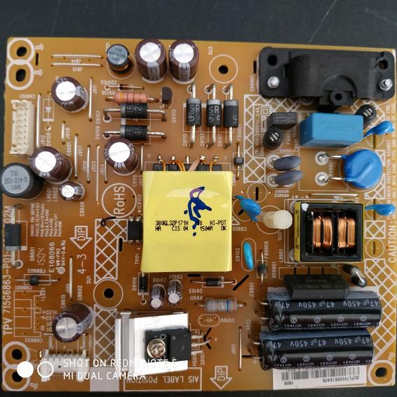 Placa Da Fonte Philips Le32d1352