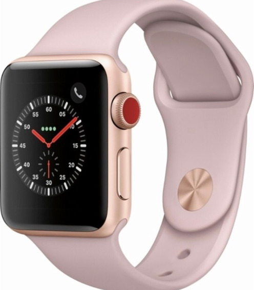Relógio Apple Watch Series 3 Gps 38mm Gold Aluminum Case Wit