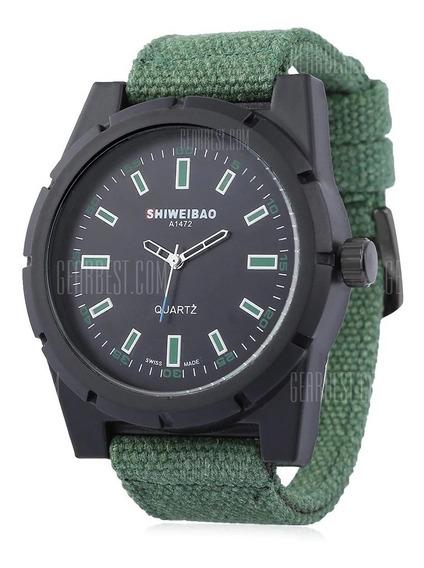 Relógio Shiweibao A1472 Masculino Resistente À Água