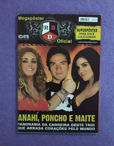 Rbd Rebelde Anahí Poncho Maite Megapôster Ano 1 No.6