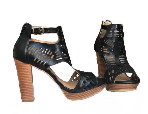 Outlet/saldos Mchn ..zapatos Negro Cklass 211-61
