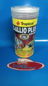 Ração Tropical D-allio Plus Granulat 150gr
