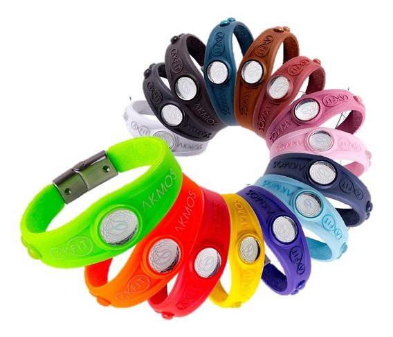 Pulseira Bracelete Original Akmos Ak Fit Lançamento Akfit