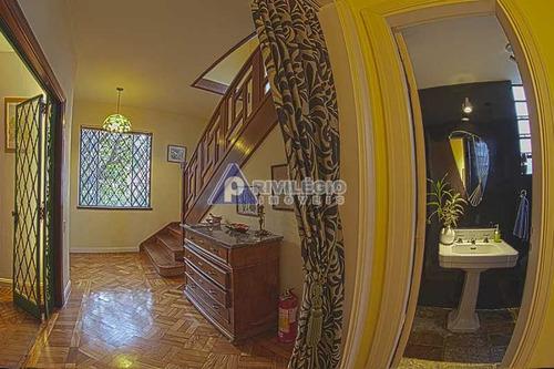 Casa De Rua À Venda, 7 Quartos, 3 Suítes, 7 Vagas, Cosme Velho - Rio De Janeiro/rj - 21559