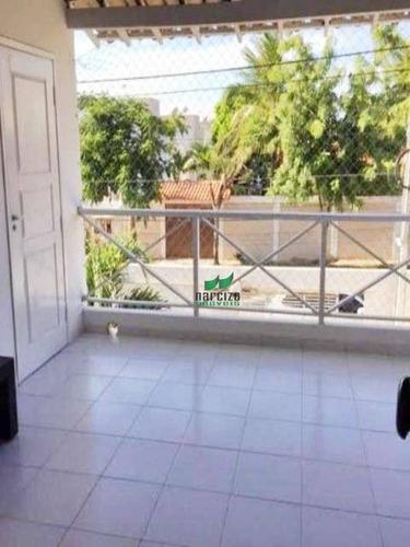 Casa Com 3 Dormitórios À Venda, 220 M² Por R$ 850.000,00 - Buraquinho - Lauro De Freitas/ba - Ca1300