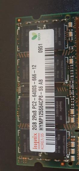 Memória Dell 2gb 2rx8pc2-6400s-666-12