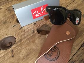 bcb22f907 Óculos De Sol Ray Ban Wayfare Perna Amadeiradas Frete Grátis