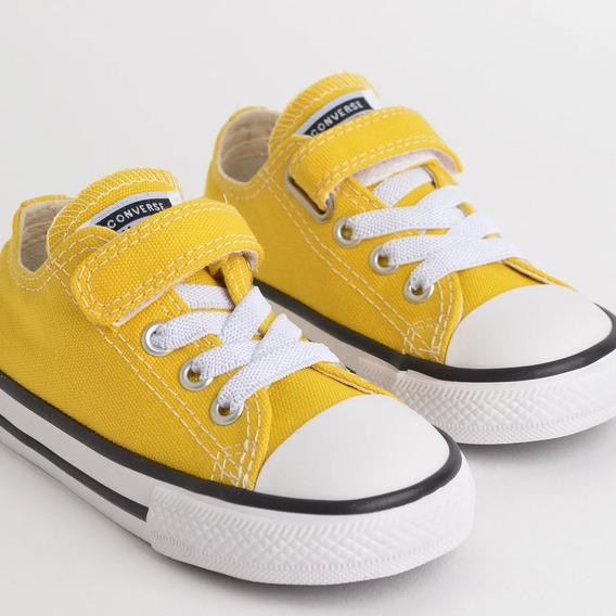 Tênis Infantil Converse All Star Amarelo Ck0815