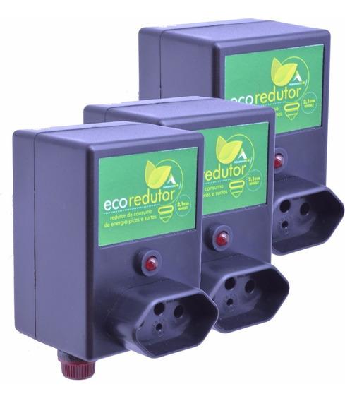Kit 3 Redutor De Energia Elétrica Para Motores Até 2,1va