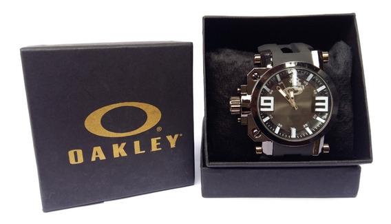 Relogio Oakley Gearbox, 10 Unidades P/ Revenda Com Caixinha