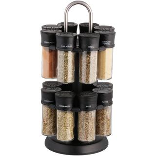 Olde Thompson Spice Rack Set, 17 Ud