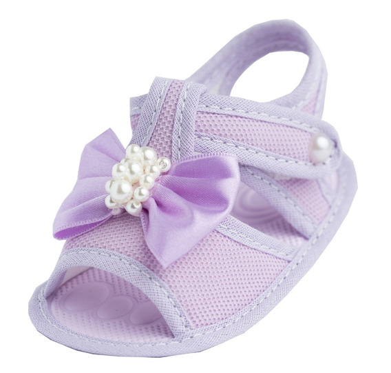 Sandalia Sapato De Bebe Menina Baby Direto Fabrica
