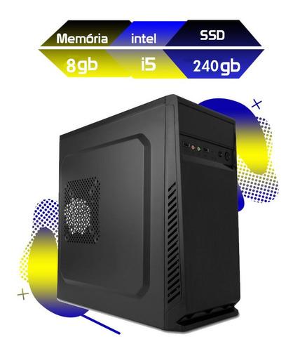 Imagem 1 de 2 de Computador Megatumii Home Office I5 8gb Ssd 240gb