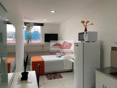 Studio Com 1 Dormitório Para Alugar, 20 M² Por R$ 1.100,00/mês - Vila Mariana - São Paulo/sp - St0035