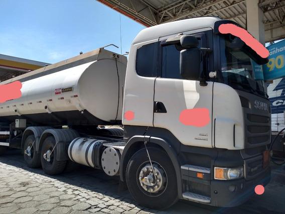 Scania R-440 Automática 6x2 Ano 2013 Tanqueira Revisada