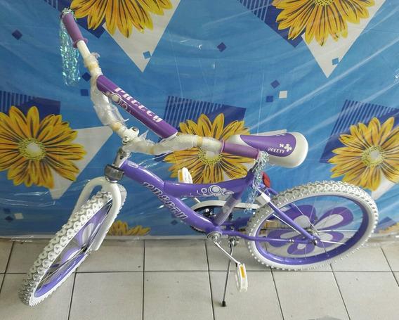 Bicicleta Rin 20 Caucho Con Tripa Moderna Freno Contra Pedal