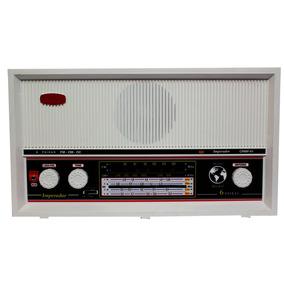 Rádio Portátil Am Fm Oc 6 Faixas C/aux Branco Companheiro Cr