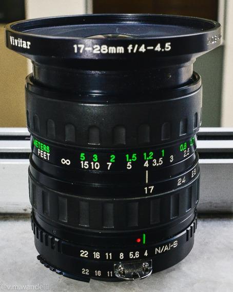 Nikon 17-28mm F/1:4 Vivitar