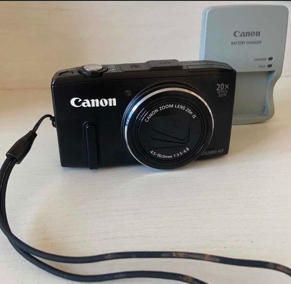 Canon Powershot Sx280 Hs Full Hd Com Wifi + Cartão 32gb