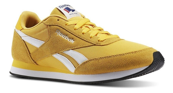 Reebok Royal Cl Jog Para Hombre, Color Amarillo