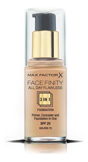 Base De Maquillaje Maxfactor Face Finity 3 In 1 Nº75