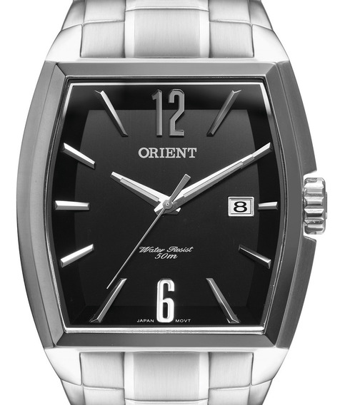 Relógio Orient Masculino Prateado Gbss1050 P2sx + N. Fiscal