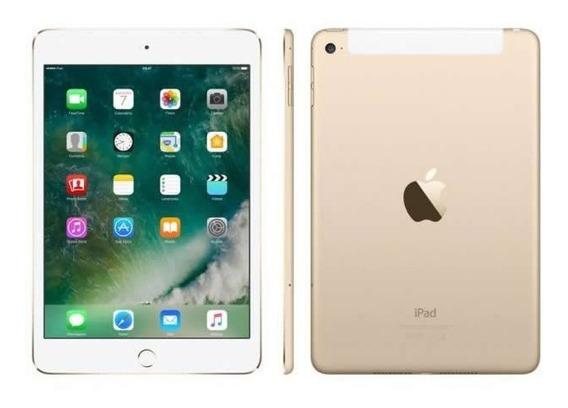 Apple iPad Mini 4 128gb Wi-fi 4g Tela Ret 7,9 - Gar 1 + Nf-e