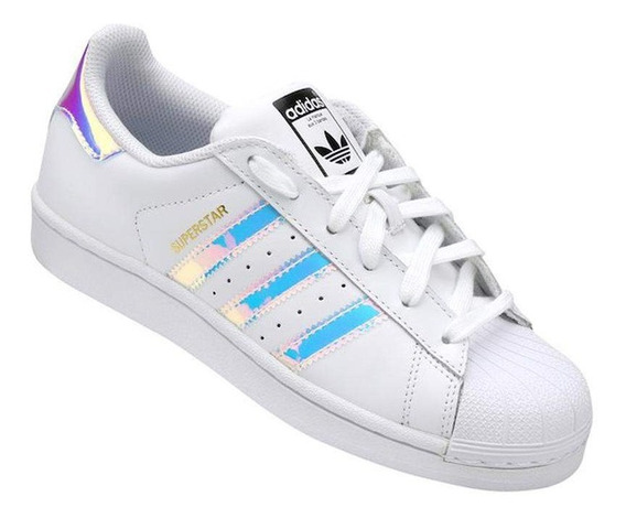 Tenis adidas Superstar Holografico Original