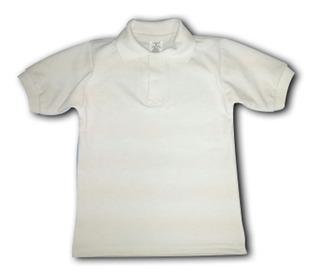 Chemises Escolares Color Blanco Talla 4 - 6 - 8-10-12 -14-16