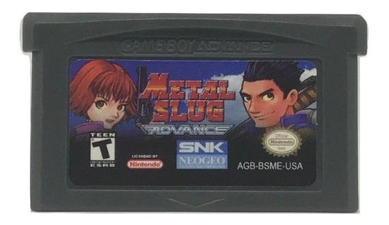 Metal Slug Advance Game Boy Advance Gba Nintendo Ds Lite
