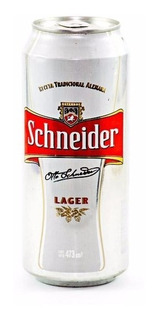 Cerveza Schneider Lata 473 Ml Pack X 24 U.