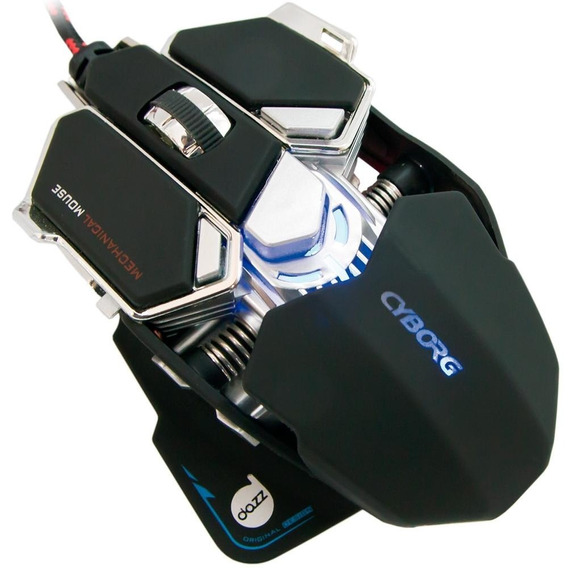 Mouse Mecânico Dazz Cyborg 4000dpi 622462