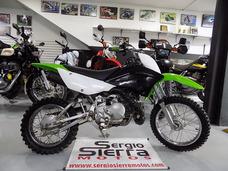 Kawasaki Klx110 Verde 2010