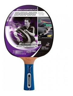 Paleta Tenis Mesa Ping Pong Donic Waldner 800 Attack Abp
