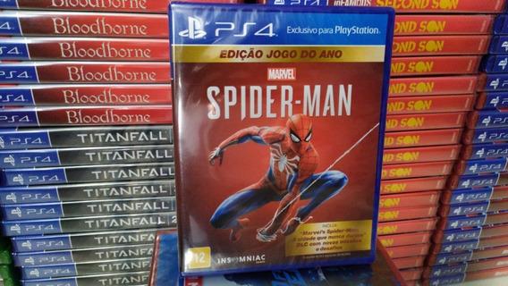 Spider-man Homem Aranha Ps4 / Dublado / Mídia Física / Novo