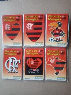 Flamengo - Card Calendário 2007 - Lote De 6