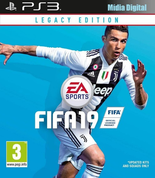 Fifa 19 Ps3 Mídia Digital Via Pendrive
