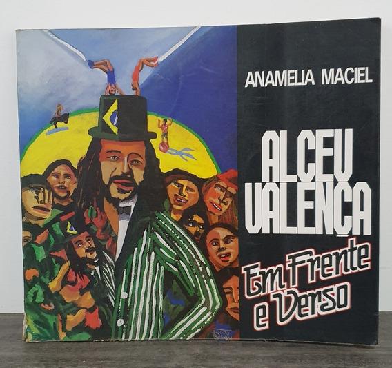 Livro Alceu Valença Em Frente E Verso - Anamelia Maciel 1989