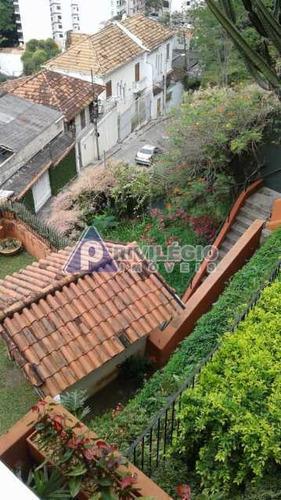 Casa De Rua À Venda, 3 Quartos, 1 Suíte, 2 Vagas, Laranjeiras - Rio De Janeiro/rj - 7495