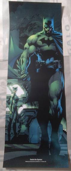 Poster Batman E Busto Super Homem