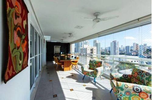 Lindo Apartamento Com 4 Dormitórios (3 Suítes) Com Varanda Gourmet E 3 Vagas - Vila Arboreto - Bosque Da Saúde - Ap12457