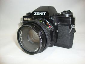 Antiga Camera Zenit Df 300 Fotografica Lente 50mm