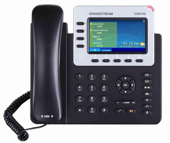 Telefono Ip Grandstream Gxp2140 4 Cuentas Sip Giga Poe Voip