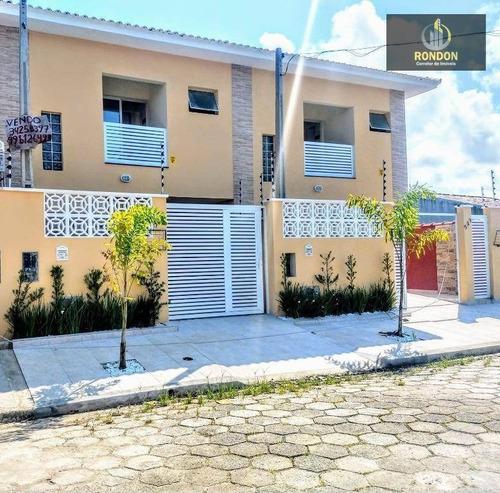 Sobrado Com 2 Dormitórios À Venda, 68 M² Por R$ 199.000 - Jardim Jamaica - Itanhaém/sp - So0027