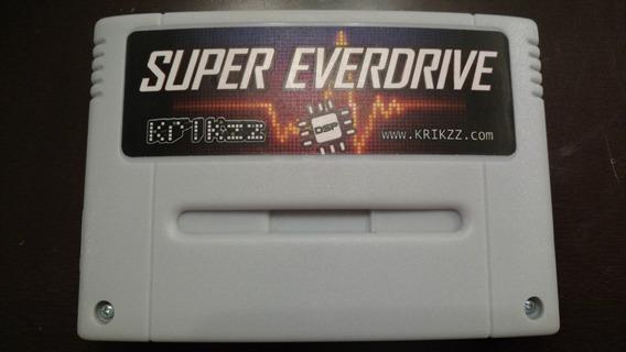 Fita Nintendo Super Everdrive Original Krikzz Com Chip Dsp